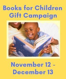 Books for Children Gift Campaign November 12 - December 13