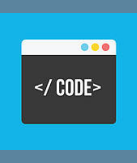 """computer programming window with text reading """"</code>"""""""