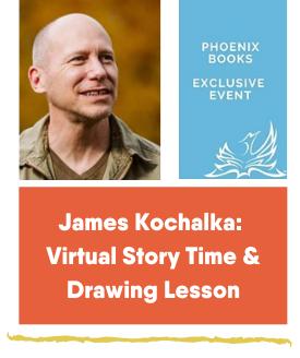 James Kochalka Phoenix Books event Feb 20