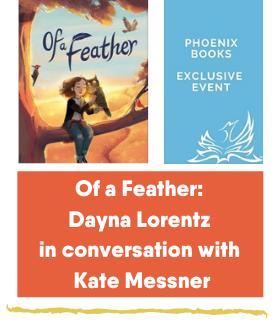 Kate Messner Dayna Lorentz Phoenix Books Event Feb 9