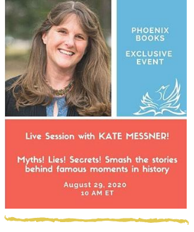 Kate Messner virtual event Phoenix books August 29